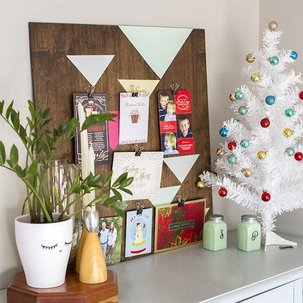 12 Cool Ways to Display Your Christmas Cards
