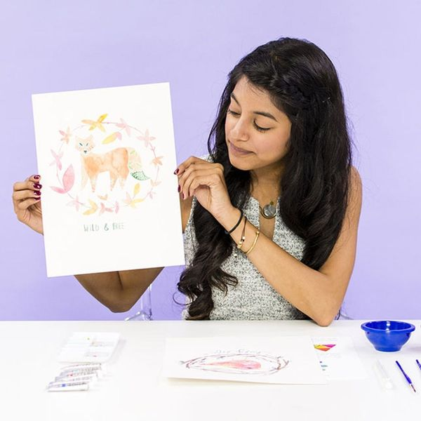 Learn to Illustrate Animals in Our New Watercolor Class