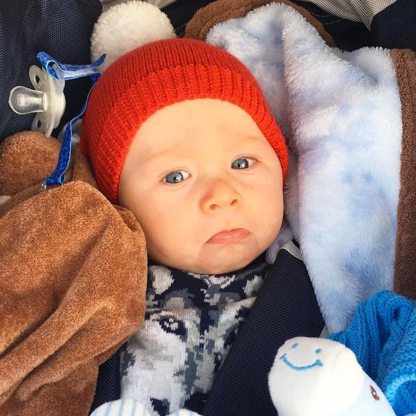 7 Celebrity Babies Celebrating Their First Christmas