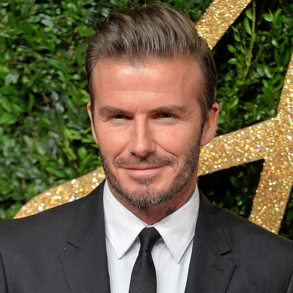 Sorry, David Beckham. Being Too Much of THIS Can Hurt a Man's Career
