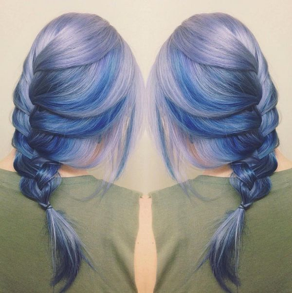 Moonstone Hair Is About to Be the Next Big Rainbow Hair Trend