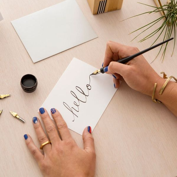 Sign Up For Our Intro to Calligraphy Workshop in SF!