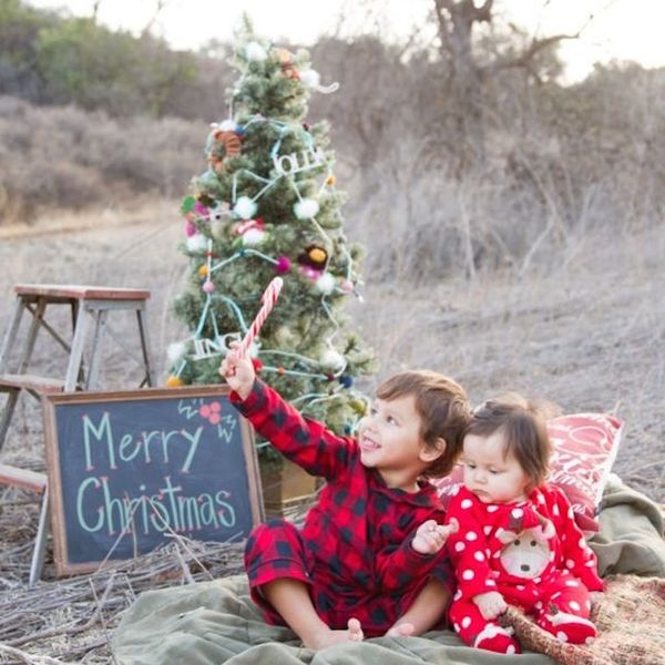 12 Outdoor Family Holiday Card Ideas That Aren't a Tree Farm