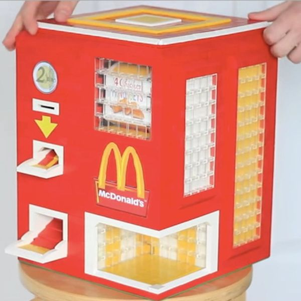 This LEGO McDonald's Nugget Dispenser Is the Best Thing You'll See All Day