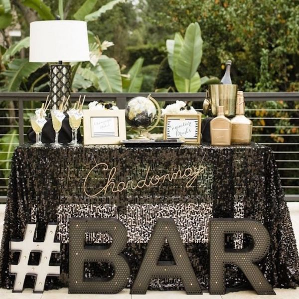 10 Sweet Wedding Cocktail Stations That Your Guests Will Love