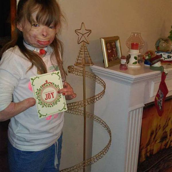 Why You Should Add This Little Girl to Your List of Holiday Card Recipients