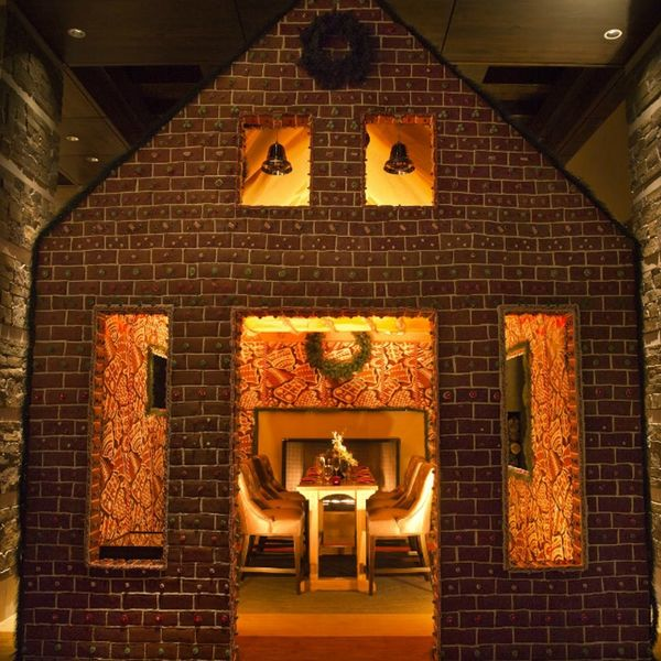 You Can Eat Dinner Inside of a Giant Gingerbread House This Season