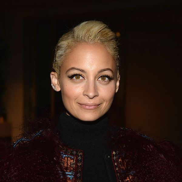 Nicole Richie's New Hair Color Gives Off Serious Winter Vibes