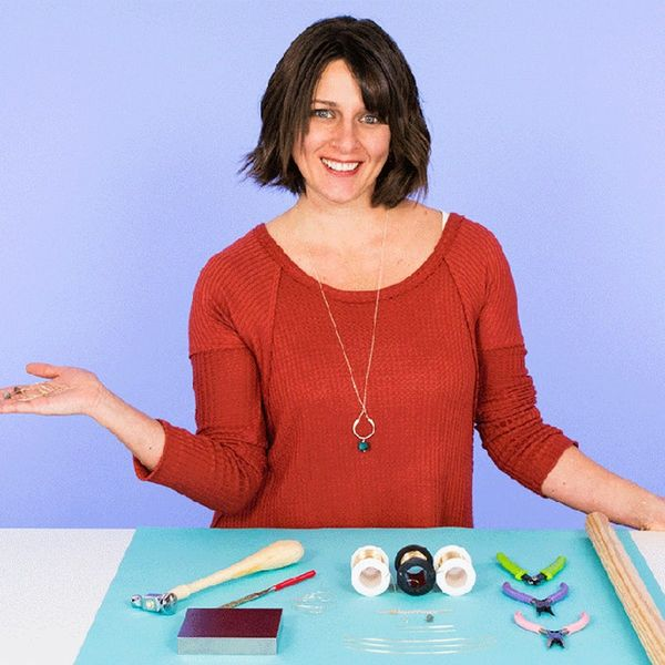 Learn Metalworking + Jewelry-Making Skills With Our New Online Class