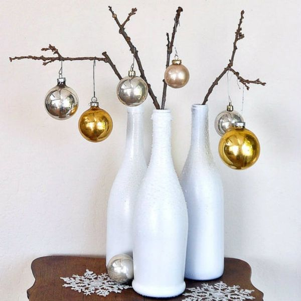10 Ways to Upcycle Your Empty Wine Bottles for the Holidays