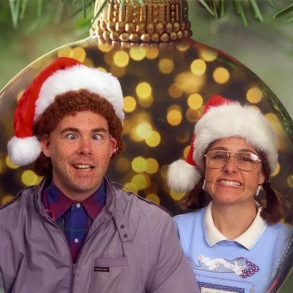 See the Awkward Christmas Cards This Couple Has Been Sending for 13 Years
