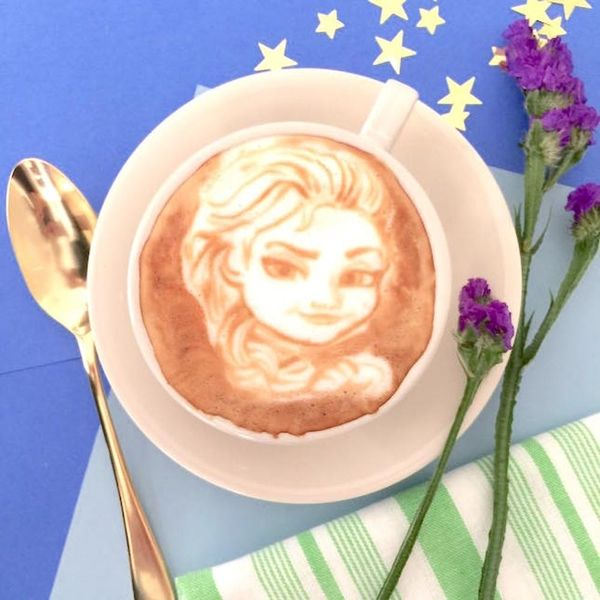 This Brooklyn Barista Created Disney Princess Latte Art Unlike Anything You've Ever Seen