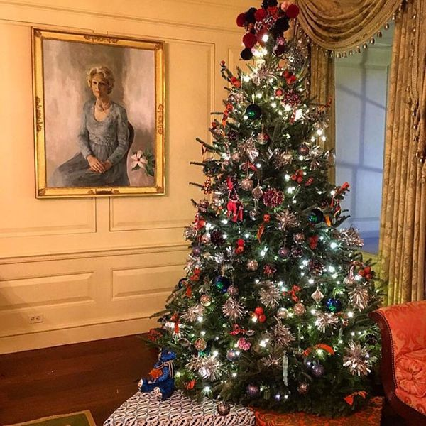 FLOTUS Recruited Some of Her Favorite Designers to Decorate the White House This Year