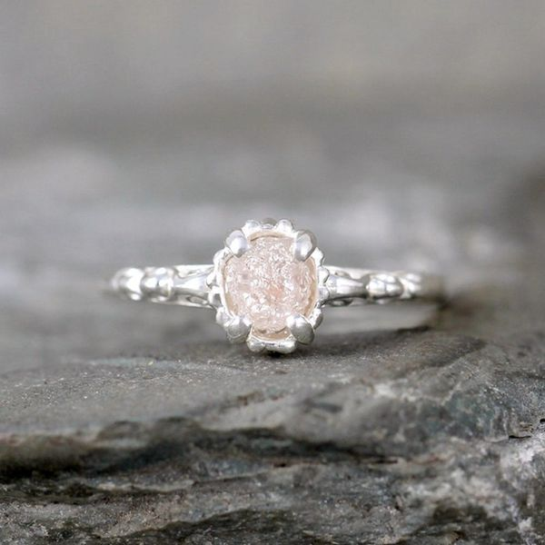 12 Raw Engagement Rings for the Non-Traditional Bride