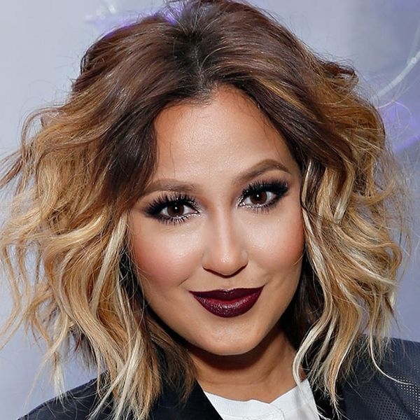 Adrienne Bailon Uses This Weird Skincare Product on Her Hair (+ It Works!)