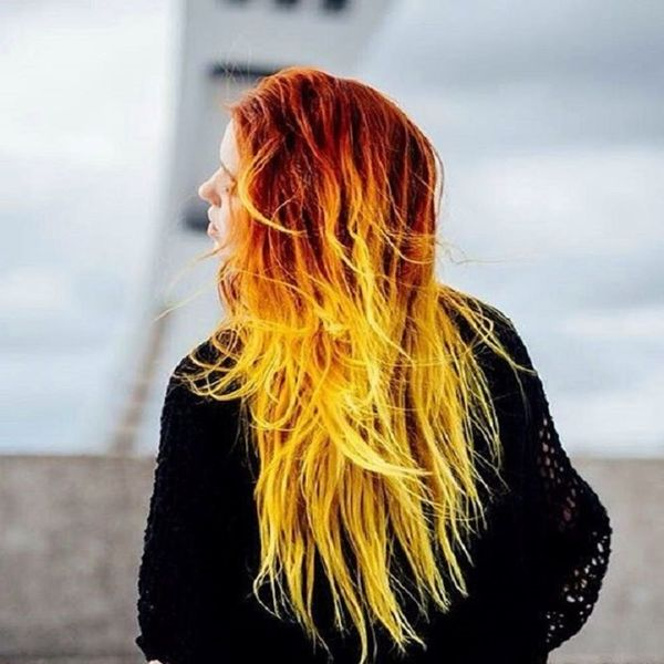 This Wild Hair Color Trend Will Make You Hate the Weather Right Now
