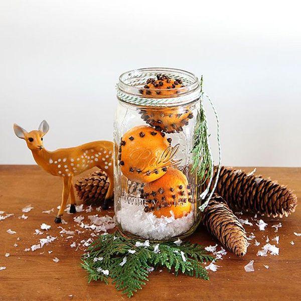 15 Festive Ways to Decorate With Mason Jars