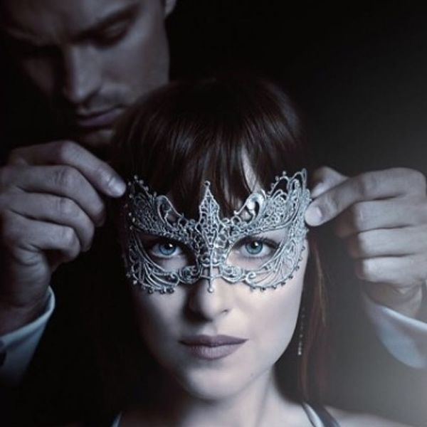 "The New ""Fifty Shades Darker"" Trailer Teases a Sexy Masquerade"