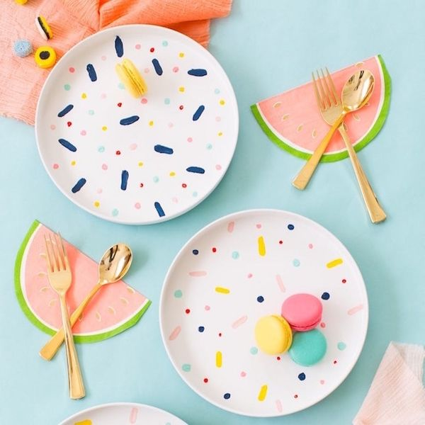 Add a Pop of Color to Your Party With These DIY Decorations