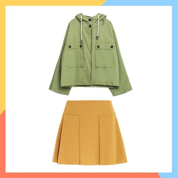 13 Ways to Rock Parkas + Mini Skirts This Fall