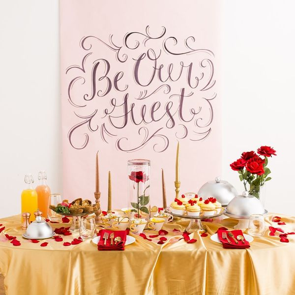 This Beauty and the Beast-Inspired Dinner Party Will Enchant the Entire Family