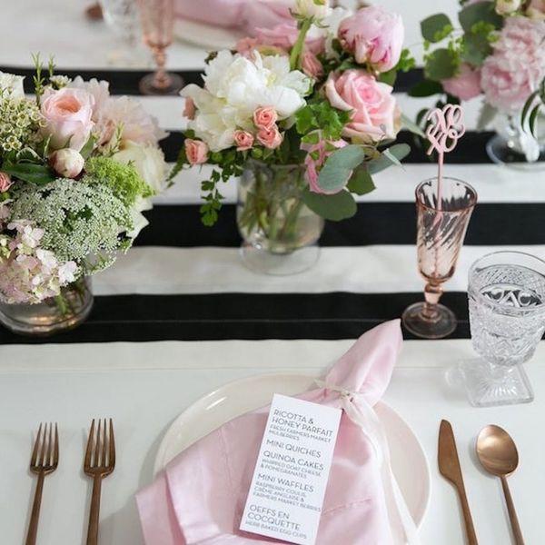 11 Preppy + Pretty Ways to Rock Stripes at Your Wedding