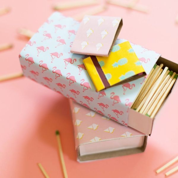 What to Make This Weekend: Patterned Matchboxes, Lisa Frank Donuts + More