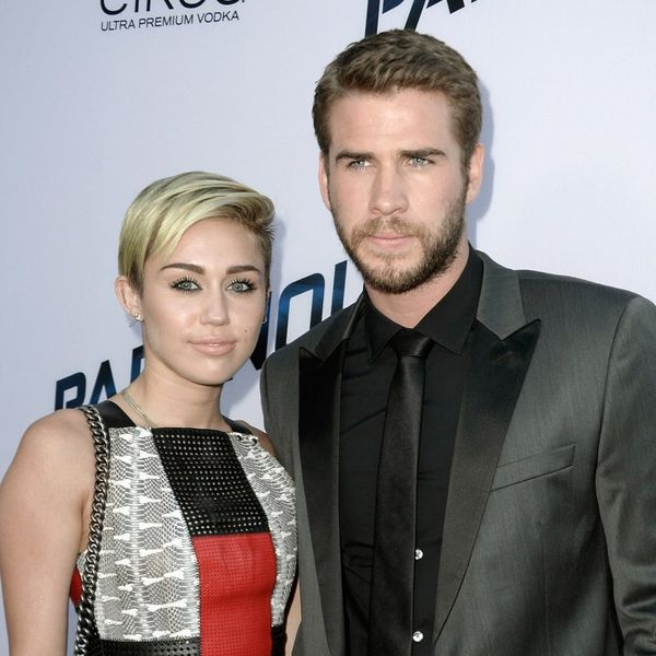 Liam Hemsworth Just Posted the Cutest #TBT With Miley Cyrus