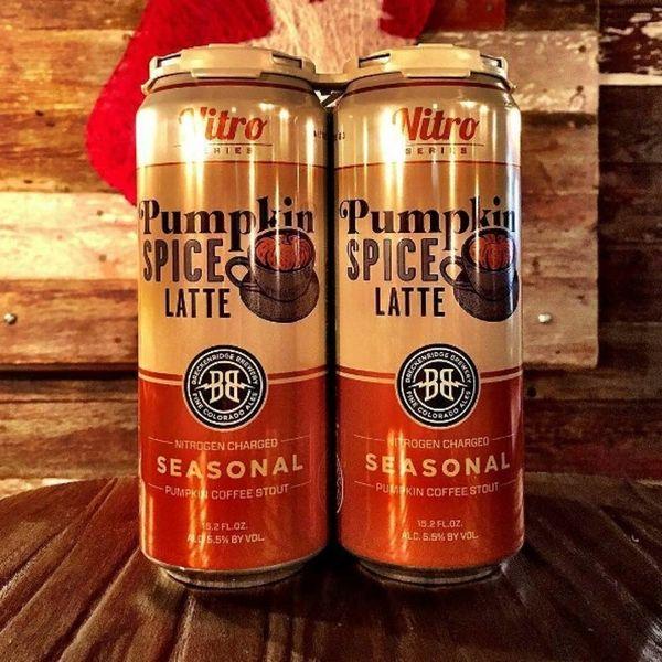Pumpkin Spice Latte-Flavored BEER Is Here
