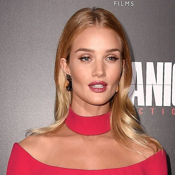 Rosie Huntington-Whiteley Proves Hot Pink Is BACK
