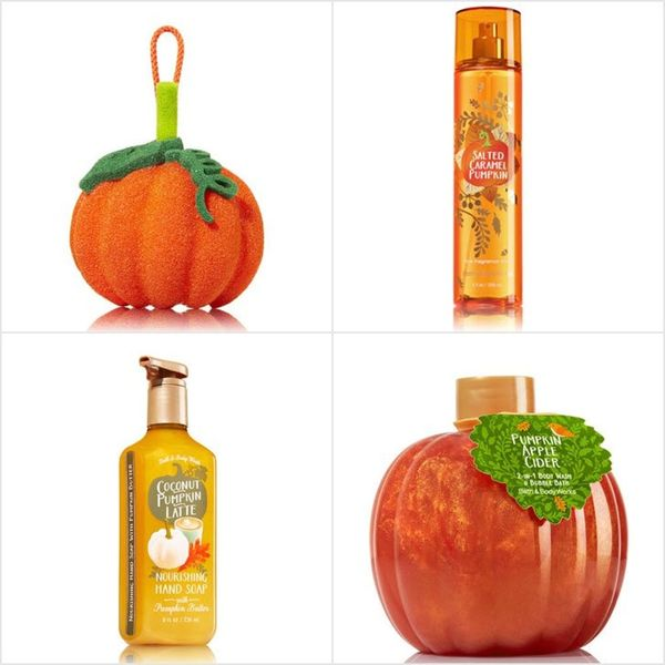Bath and Bodyworks Is Ready for Fall With 120+ New Pumpkin-Scented Products