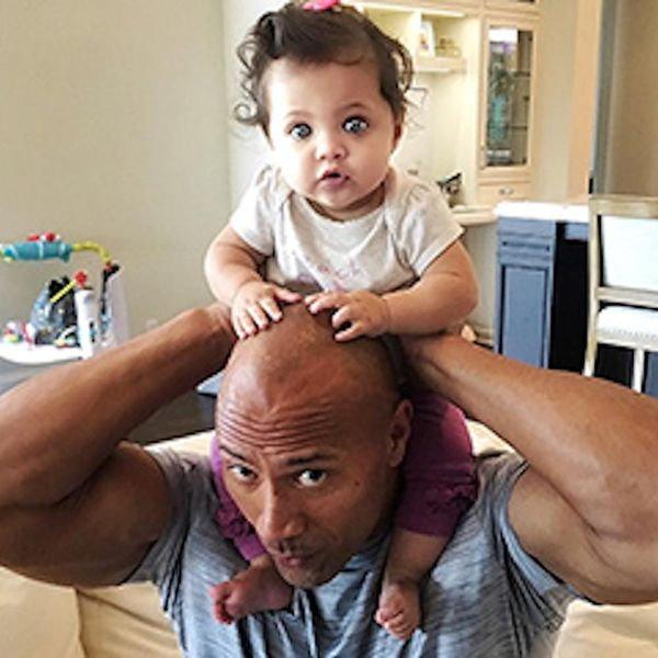 Morning Buzz! The Rock Spent Labor Day Having Inspiring Chats With His Baby Daughter + More