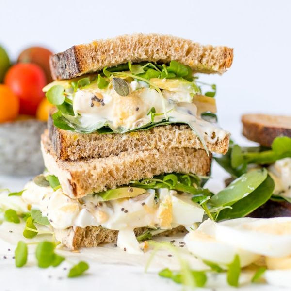 A Superfood Egg Sandwich That Satisfies That Comfort Food Craving
