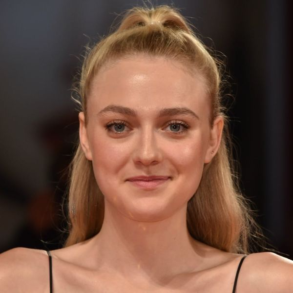 Dakota Fanning Just Slayed the Venice Film Fest Carpet in a Dress That Was Fit for a Mermaid