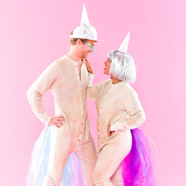 This DIY Unicorn Couples Costume Is #GOALS
