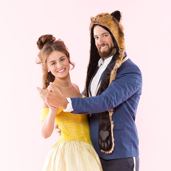 Wear This Beauty And The Beast Couples Costume For An Enchanting Halloween Brit Co