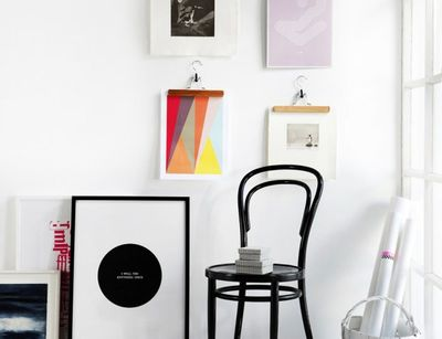 10 Wall Art Display Ideas That Aren T Another Gallery Wall Brit Co