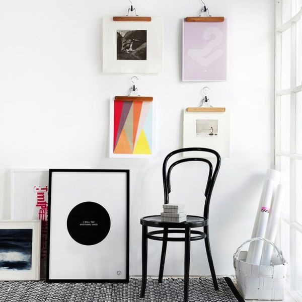10 Unique Wall Art Display Ideas That Aren't Another Gallery Wall