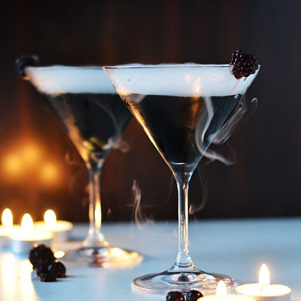This Ghostly Halloween Cocktail Recipe Is Scary Delicious