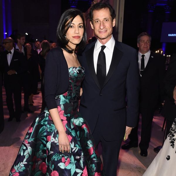 Anthony Weiner's Latest Scandal Has Resulted in His Wife Getting Mom-Shamed