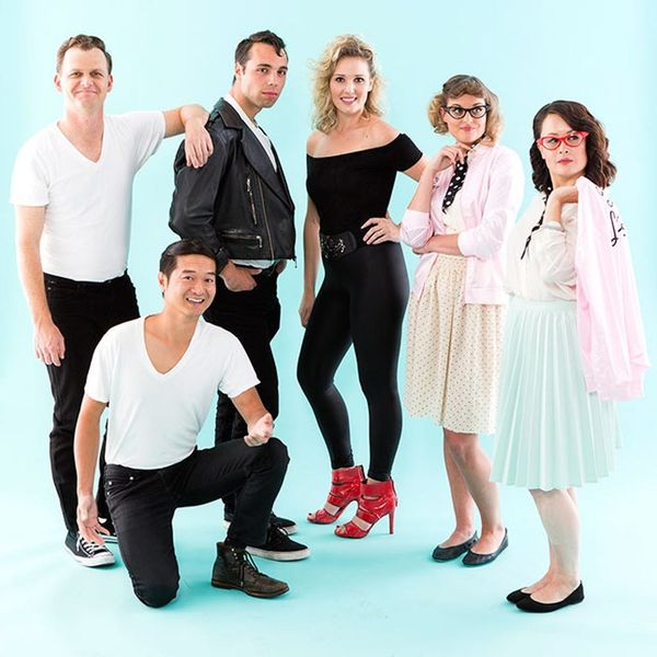 This Grease Group Halloween Costume Is Electrifying