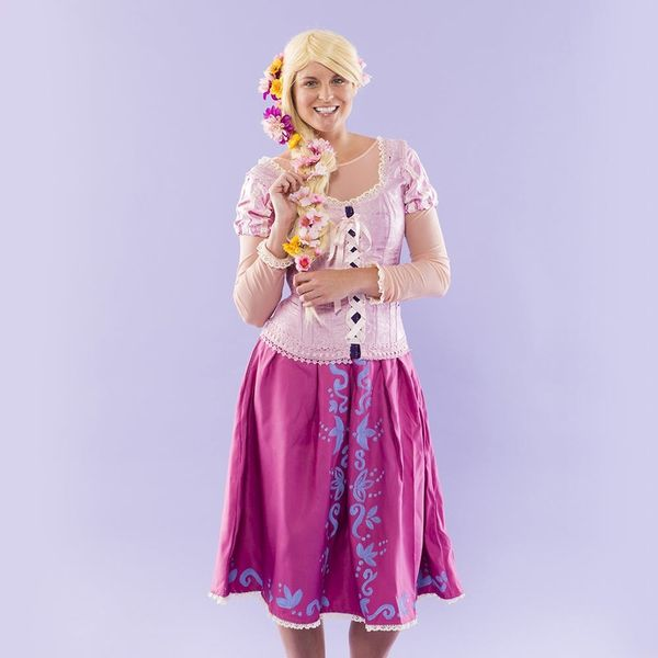 Bring Out Your Inner Disney Princess With This DIY Rapunzel Costume