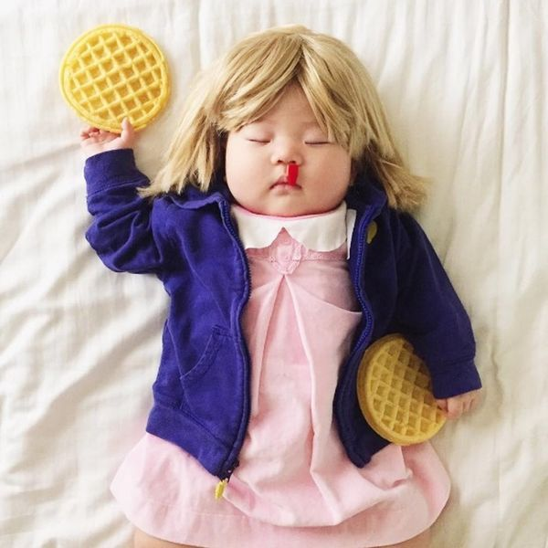 This Mom Dresses Her Napping Baby in the Most Amazing Costumes