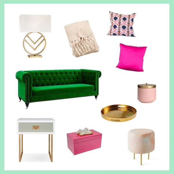 3 Pinterest-Perfect Ways to Decorate Your Colorful Couch