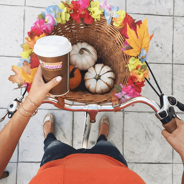 The First Pumpkin Spice Latte of the Season Is Here!