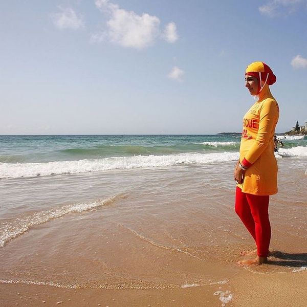 Why You Might Think Twice Before Sharing That Burkini Ban Picture