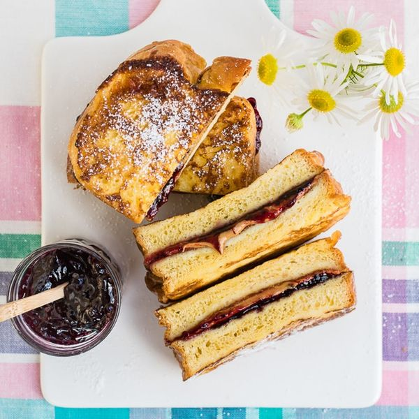 Beat the Back-to-School Blues With This PB+J French Toast