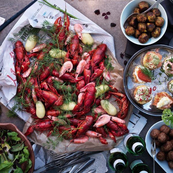 Celebrate Summer's End With IKEA's Swedish Crayfish Party (+ a Cheese Pie Recipe!)