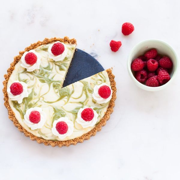 This Marbled Matcha Cheesecake Is About to Be Your New Fave Dessert