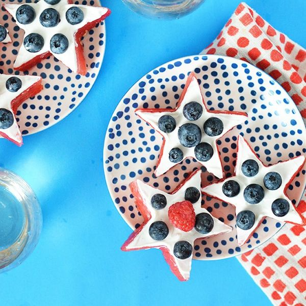 Show Off Your Patriotism This Labor Day With Watermelon Stars